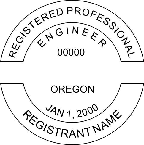 professional stamp to meet state license and seal requirements for a PE