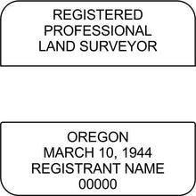 Oregon Land Surveyor - Prostamps