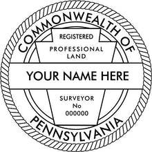 Pennsylvania Land Surveyor - Prostamps