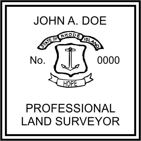 Rhode Island Land Surveyor - Prostamps