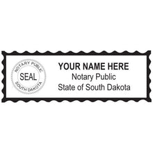 South Dakota Notary Stamp and Seal - Prostamps