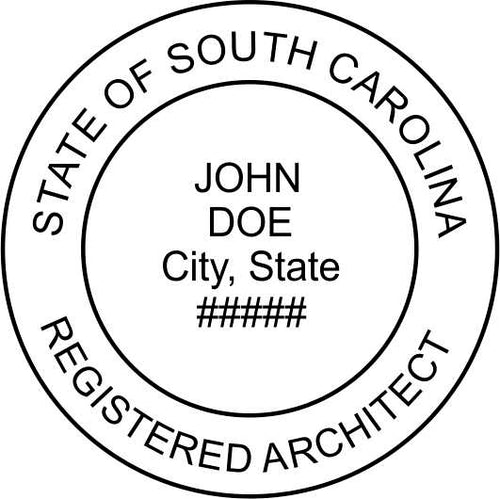 South Carolina Architect - Prostamps