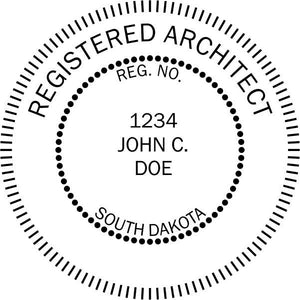 South Dakota Architect - Prostamps