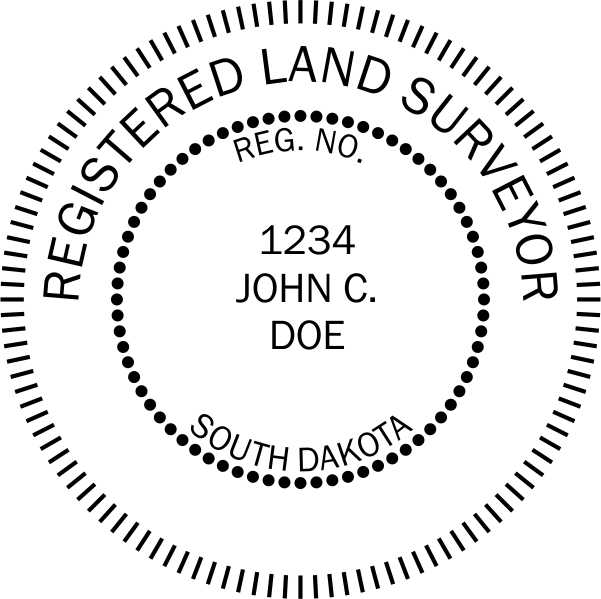 South Dakota Land Surveyor - Prostamps