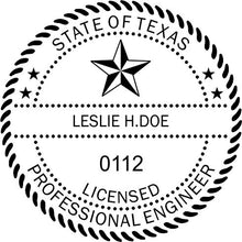 Texas Engineer Stamp and Seal - Prostamps
