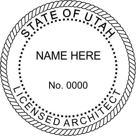 Utah Architect - Prostamps