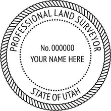 Utah Land Surveyor - Prostamps