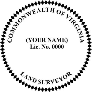 Virginia Land Surveyor - Prostamps