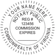 Virginia Notary Stamp and Seal