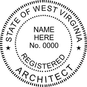West Virginia Architect - Prostamps