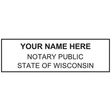 Wisconsin Notary Stamp and Seal