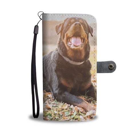 Rottweiler Wallet Phone Case