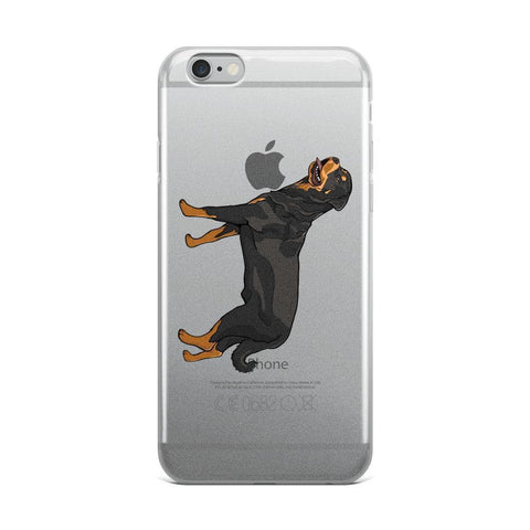Xary Rottweiler TPU iPhone Case-Phone Case-Rottweilers Shop
