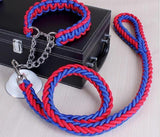 Strong Collar & Leash in several Colors-Rottweilers Shop
