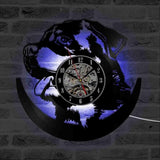 Rottweiler 3D LED Clock with 7 Colors-Rottweilers Shop