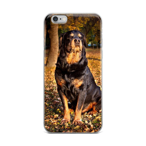 "Rottweiler iPhone Case ""Xarry-B""-Phone Case-Rottweilers Shop"