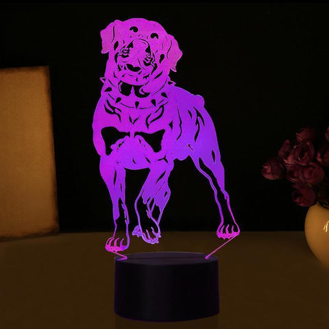 Rottweiler Night Lamp-Rottweilers Shop