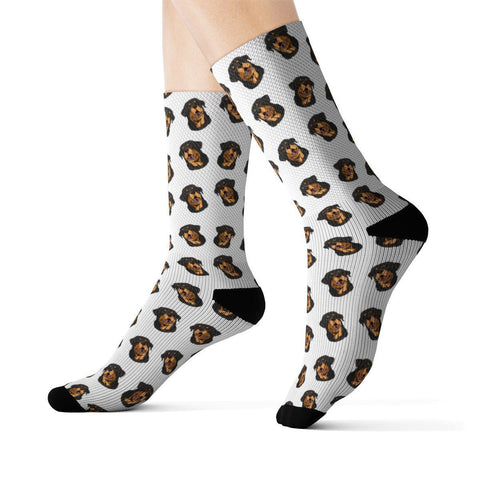Rottweiler Socks-All Over Prints-Rottweilers Shop