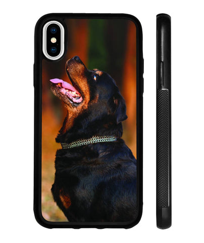 """Xary-C"" Rottweiler Phone Case for iPhone X-Phone Cases-Rottweilers Shop"