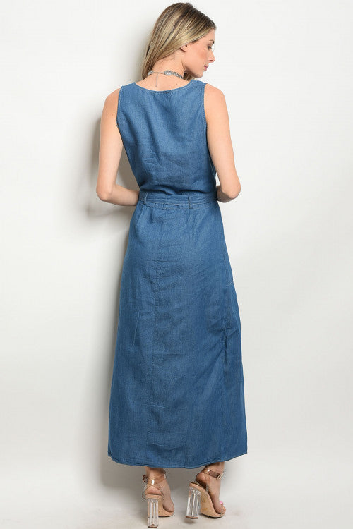 DENIM BLUE DRESS D41718