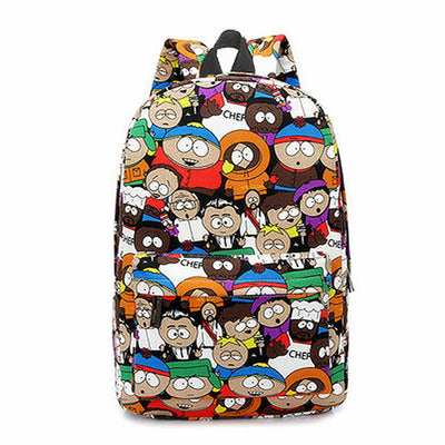 Casual South Park Cute Cartoon Backpack
