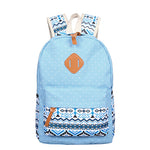 Cute Lightweight Canvas Printing Backpack