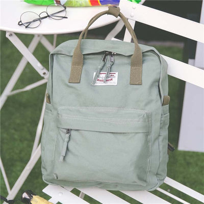 Casual Vintage Cotton Fabric Backpack