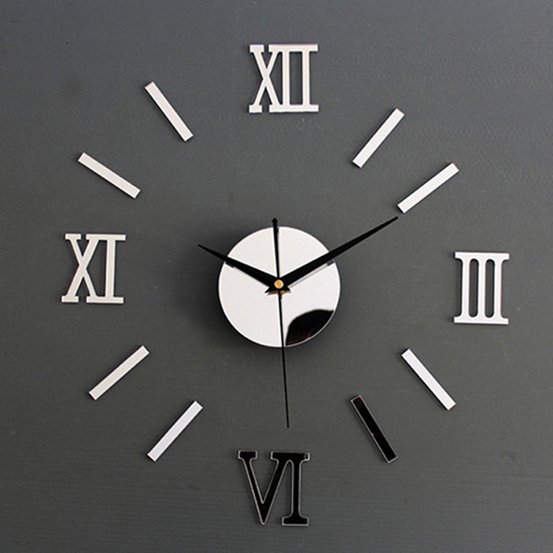 3D Large Luxury Wall Clock