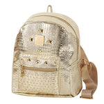 Casual Rivets Rucksack Preppy Style Backpack
