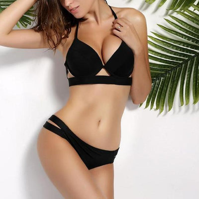 Sexy Push Up Low Waist Bathing Suit