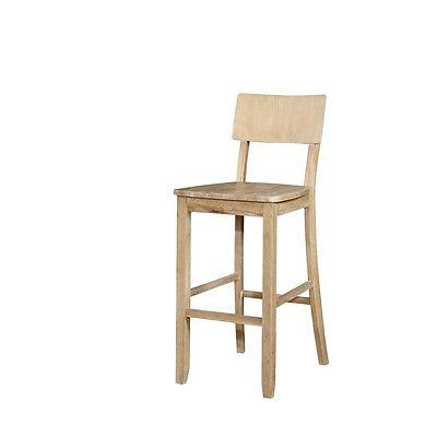 Linon 017102NAT01U Jordan Natural Bar Stool