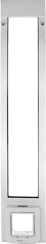 "Patio Pacific 01ppc21-pw Thermopanel 2e with Sureflap Microchip Pet Door - 74.75"" - 77.75"", white frame - Peazz.com - 1"