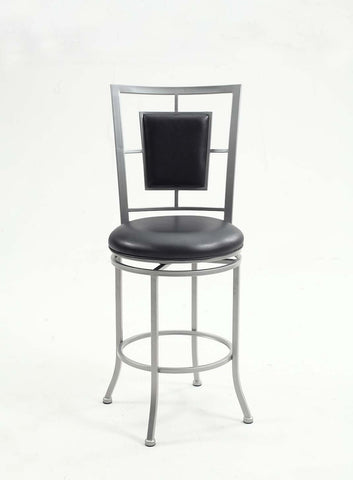 Chintaly 0258-CS Padded backed counter stool