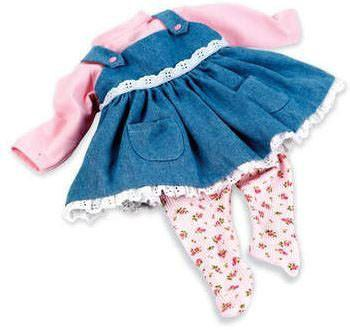 "Madame Alexander 02588 Dressy Denim Jumper for 19-20"" Babies - Peazz.com"
