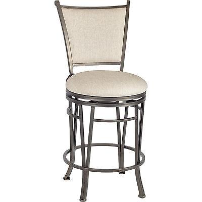 Linon 033008MTL01ASU Macon Counter Stool