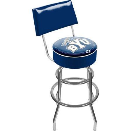 Brigham Young University Clc1100-Byu Brigham Young University Padded Swivel Bar Stool With Back
