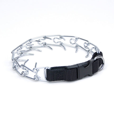 Coastal Pet Products 05592-BLK14 Titan Easy-On Dog Prong Training Collar with Buckle