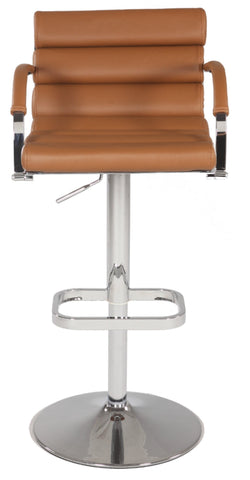Chintaly 0661-AS-BRW Pneumatic Gas Lift Swivel Height Stool