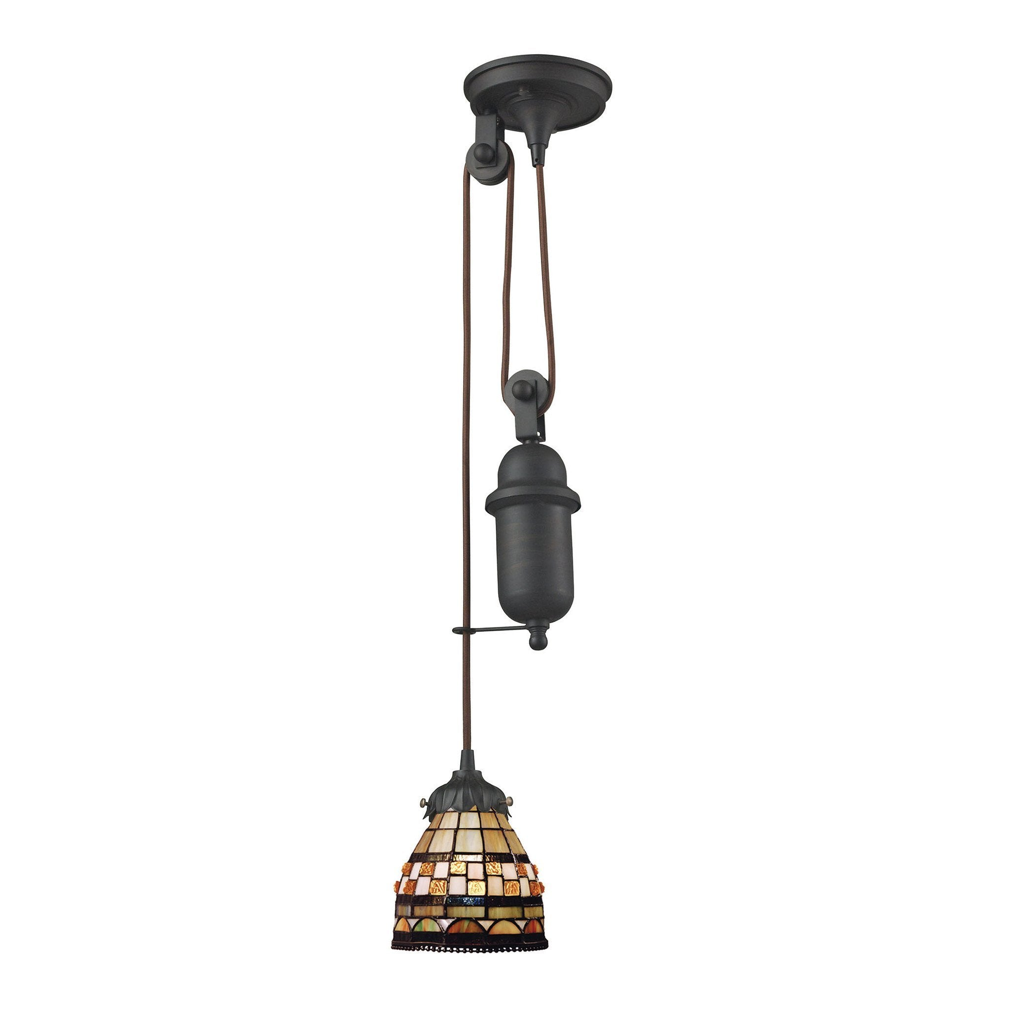 ELK Lighting 081-TB-10 Mix-N-Match Collection Tiffany Bronze Finish