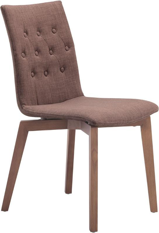 Zuo Dining Chair Color Tobacco Solid Wood Orebro