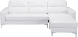 Zuo Modern 100233 Versa Sectional Color White PVC, Wood, Steel Finish - Peazz.com - 5