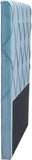 Zuo Modern 100254 Matias Headboard (Queen) Color Polar Blue Velvet Plywood Finish - Peazz.com - 2