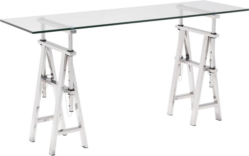 Console Table Color Chrome Stainless Steel Lado 2886 Product Photo