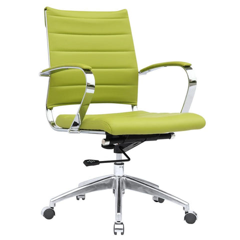 Fine Mod Imports FMI10077-green Sopada Conference Office Chair Mid Back, Green - Peazz.com - 1