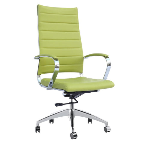 Fine Mod Imports FMI10078-green Sopada Conference Office Chair High Back, Green - Peazz.com - 1
