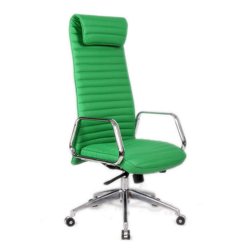 Fine Mod Imports FMI10178-green Ox Office Chair High Back, Green - Peazz.com - 1