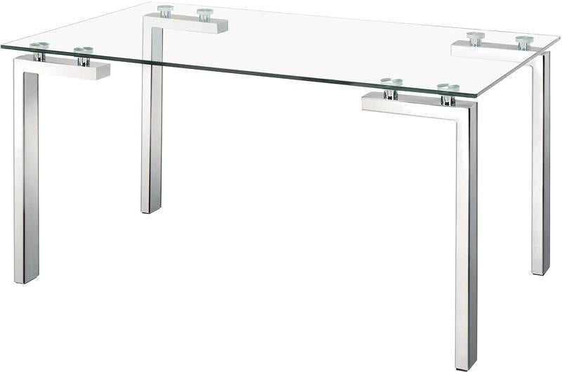 Dining Table Color Polished Stainless Steel Polished 2887 Product Photo