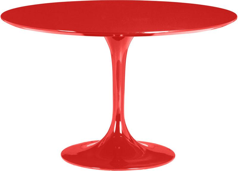 Zuo Dining Table Color Red Fiberglass Wilco