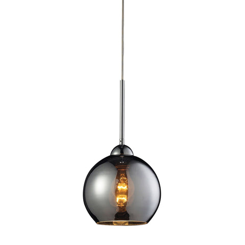 ELK Lighting 10240/1CHR Cassandra Collection Polished Chrome Finish - PeazzLighting