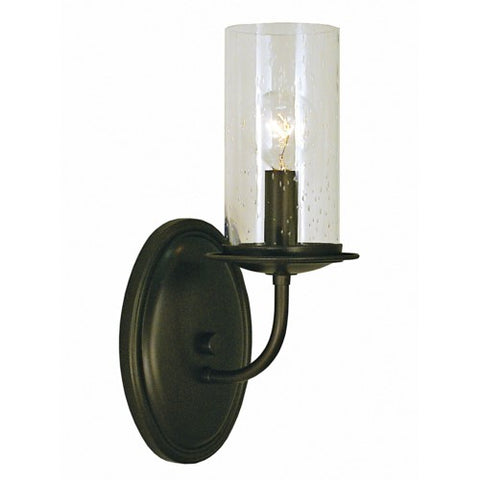 Framburg 1041-MBLACK 1-Light Matte Bronze Compass Sconce